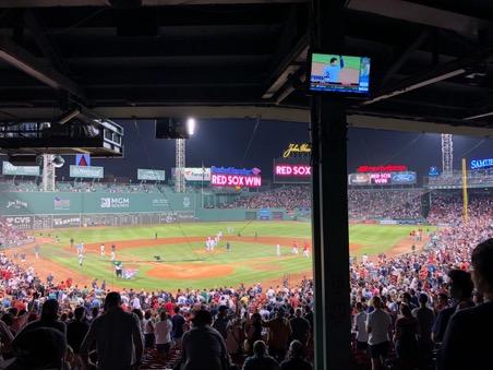 Vitória do Red Sox contra o Yankees no Fenway Park